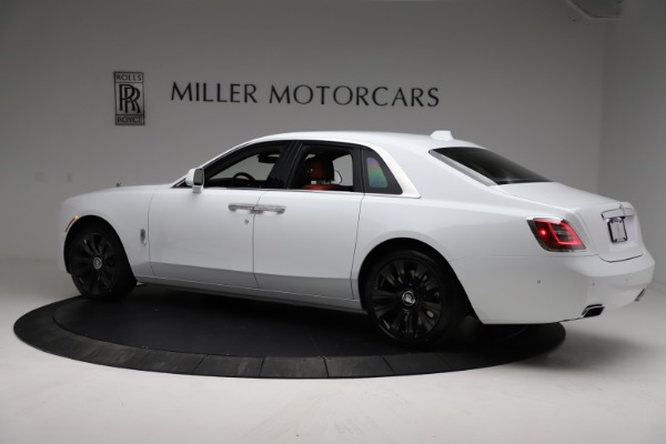 New 2021 Rolls-Royce Ghost for sale $390,400 at Maserati of Greenwich in Greenwich CT 06830 5