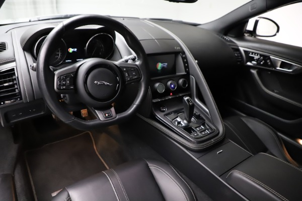Used 2016 Jaguar F-TYPE R for sale $58,900 at Maserati of Greenwich in Greenwich CT 06830 13