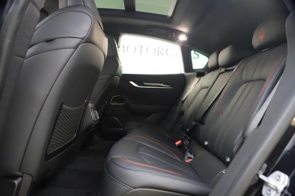 New 2021 Maserati Levante Q4 GranSport for sale $92,485 at Maserati of Greenwich in Greenwich CT 06830 17