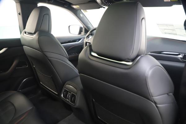 New 2021 Maserati Levante Q4 GranSport for sale $92,485 at Maserati of Greenwich in Greenwich CT 06830 21