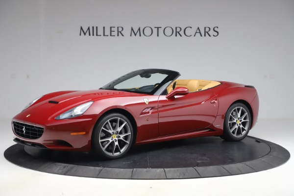 Used 2014 Ferrari California 30 for sale Sold at Maserati of Greenwich in Greenwich CT 06830 2