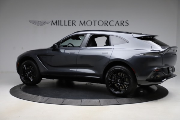 New 2021 Aston Martin DBX for sale $201,586 at Maserati of Greenwich in Greenwich CT 06830 3
