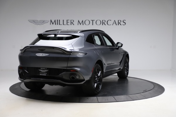 New 2021 Aston Martin DBX for sale $201,586 at Maserati of Greenwich in Greenwich CT 06830 6