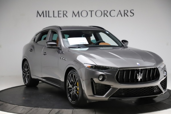 New 2021 Maserati Levante S Q4 GranSport for sale $108,235 at Maserati of Greenwich in Greenwich CT 06830 11