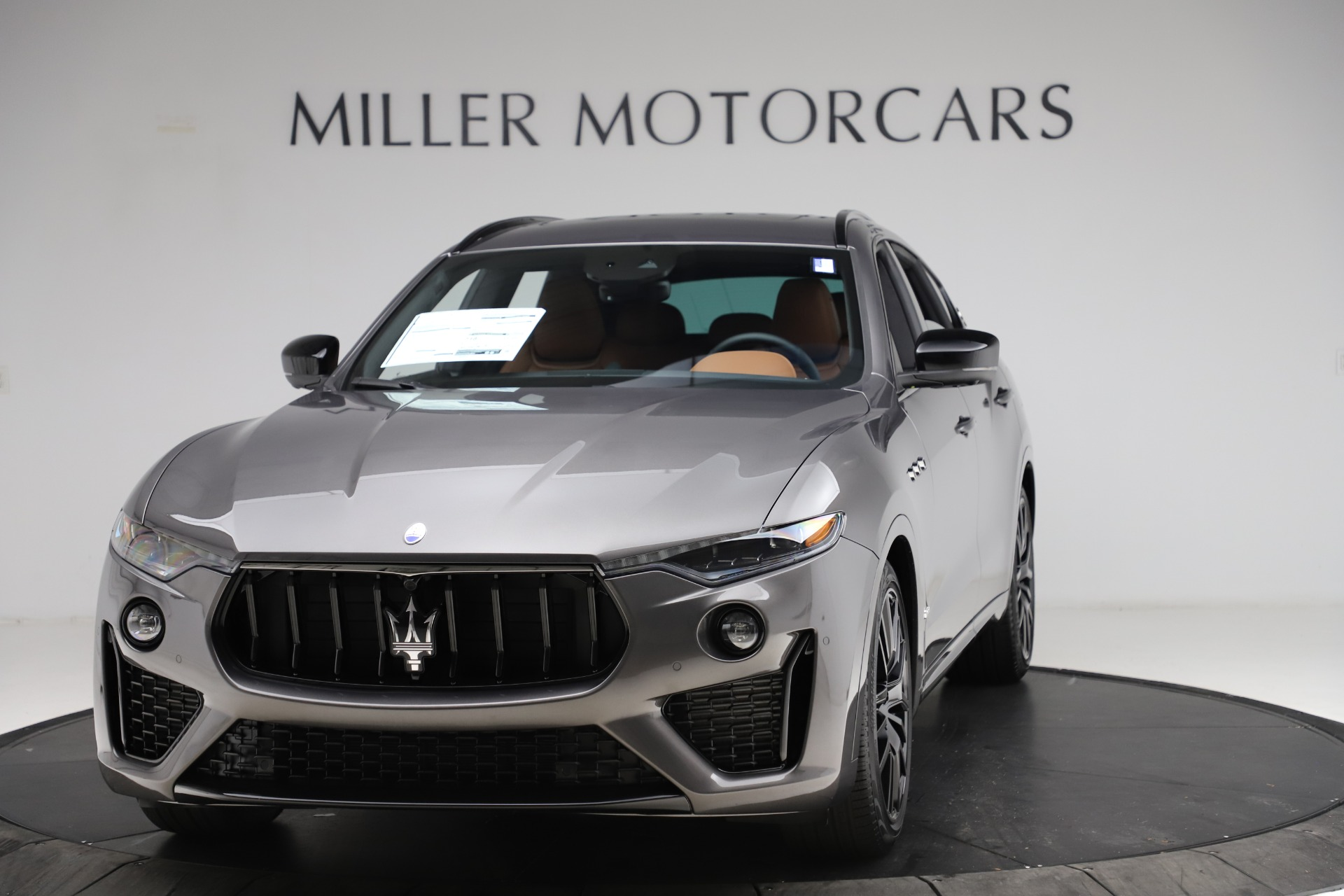 New 2021 Maserati Levante S Q4 GranSport for sale $108,235 at Maserati of Greenwich in Greenwich CT 06830 1