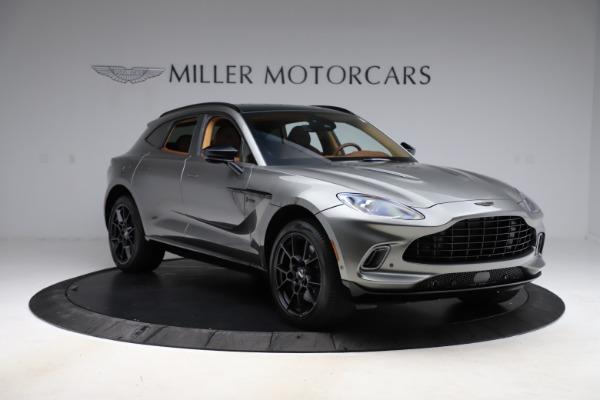 New 2021 Aston Martin DBX for sale $226,136 at Maserati of Greenwich in Greenwich CT 06830 10