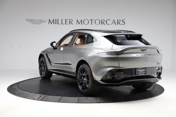 New 2021 Aston Martin DBX for sale $226,136 at Maserati of Greenwich in Greenwich CT 06830 4