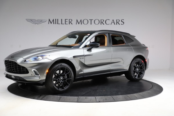 New 2021 Aston Martin DBX for sale $226,136 at Maserati of Greenwich in Greenwich CT 06830 1