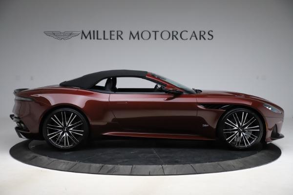 New 2021 Aston Martin DBS Superleggera Volante for sale $362,486 at Maserati of Greenwich in Greenwich CT 06830 12