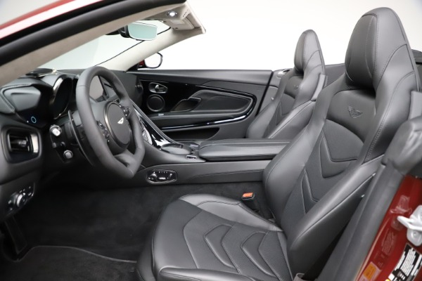 New 2021 Aston Martin DBS Superleggera Volante for sale $362,486 at Maserati of Greenwich in Greenwich CT 06830 18