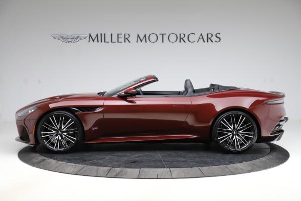 New 2021 Aston Martin DBS Superleggera Volante for sale $362,486 at Maserati of Greenwich in Greenwich CT 06830 2