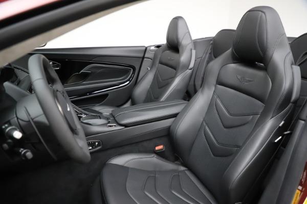 New 2021 Aston Martin DBS Superleggera Volante for sale $362,486 at Maserati of Greenwich in Greenwich CT 06830 20