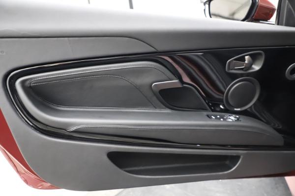 New 2021 Aston Martin DBS Superleggera Volante for sale $362,486 at Maserati of Greenwich in Greenwich CT 06830 23
