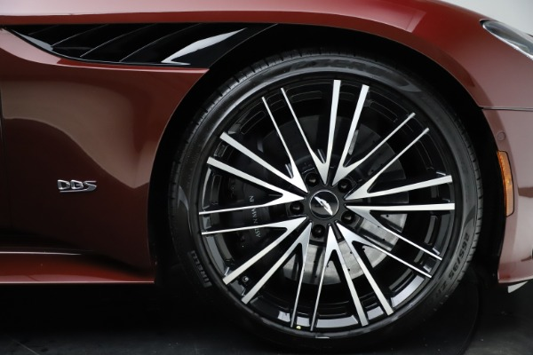 New 2021 Aston Martin DBS Superleggera Volante for sale $362,486 at Maserati of Greenwich in Greenwich CT 06830 24