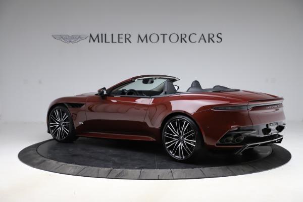New 2021 Aston Martin DBS Superleggera Volante for sale $362,486 at Maserati of Greenwich in Greenwich CT 06830 3