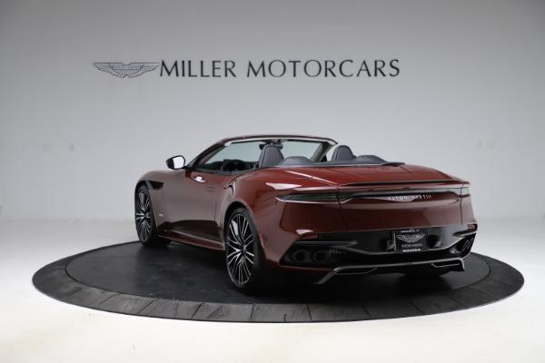 New 2021 Aston Martin DBS Superleggera Volante for sale $362,486 at Maserati of Greenwich in Greenwich CT 06830 4