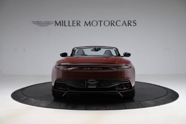 New 2021 Aston Martin DBS Superleggera Volante for sale $362,486 at Maserati of Greenwich in Greenwich CT 06830 5