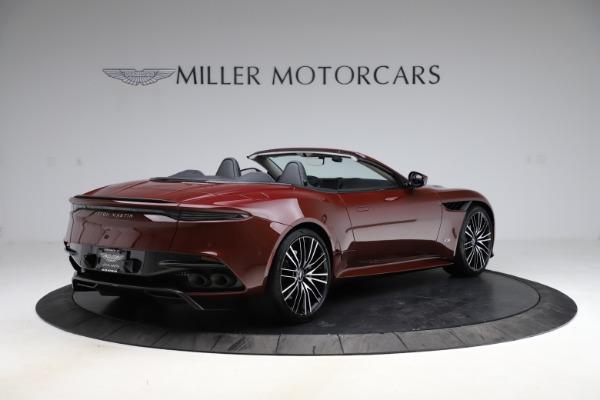 New 2021 Aston Martin DBS Superleggera Volante for sale $362,486 at Maserati of Greenwich in Greenwich CT 06830 7