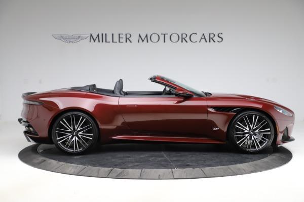 New 2021 Aston Martin DBS Superleggera Volante for sale $362,486 at Maserati of Greenwich in Greenwich CT 06830 8