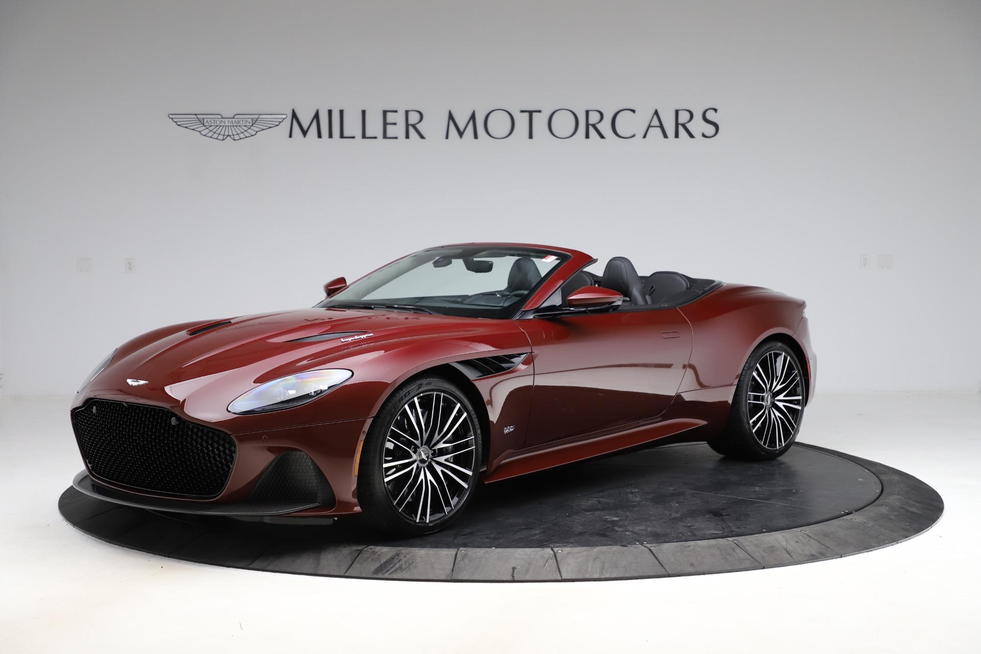 New 2021 Aston Martin DBS Superleggera Volante for sale $362,486 at Maserati of Greenwich in Greenwich CT 06830 1