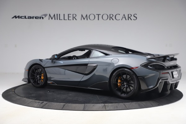 Used 2019 McLaren 600LT Coupe for sale $229,900 at Maserati of Greenwich in Greenwich CT 06830 3