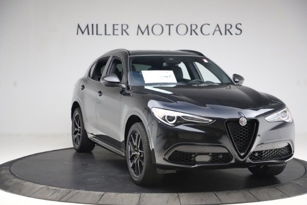 New 2020 Alfa Romeo Stelvio Ti Sport Q4 for sale $49,945 at Maserati of Greenwich in Greenwich CT 06830 11