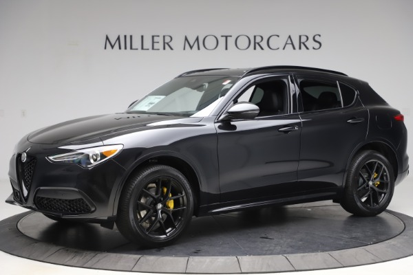 New 2020 Alfa Romeo Stelvio Ti Sport Q4 for sale $49,945 at Maserati of Greenwich in Greenwich CT 06830 2