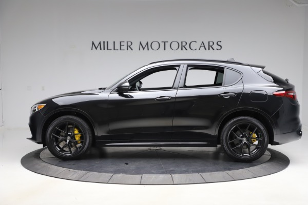 New 2020 Alfa Romeo Stelvio Ti Sport Q4 for sale $49,945 at Maserati of Greenwich in Greenwich CT 06830 3
