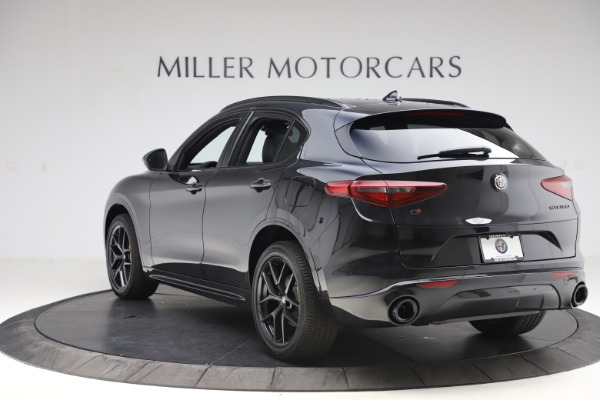 New 2020 Alfa Romeo Stelvio Ti Sport Q4 for sale $49,945 at Maserati of Greenwich in Greenwich CT 06830 5