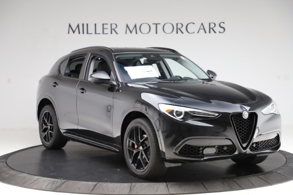 New 2020 Alfa Romeo Stelvio Ti Sport Q4 for sale $51,795 at Maserati of Greenwich in Greenwich CT 06830 11