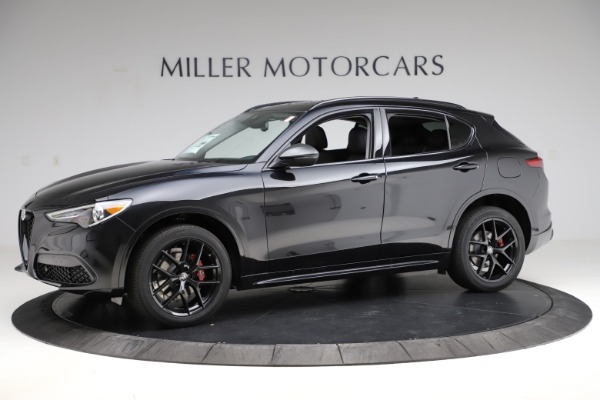 New 2020 Alfa Romeo Stelvio Ti Sport Q4 for sale $51,795 at Maserati of Greenwich in Greenwich CT 06830 2