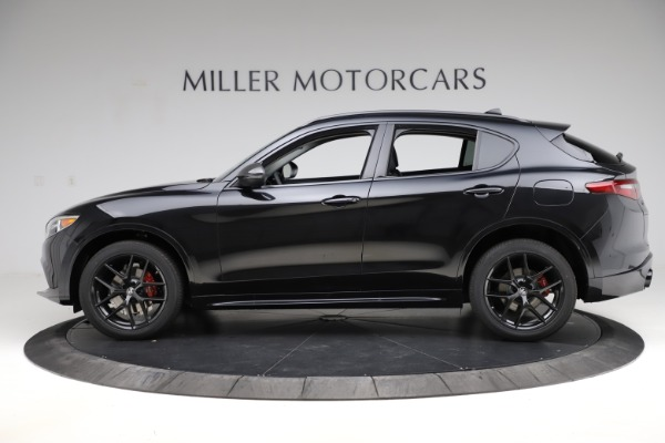 New 2020 Alfa Romeo Stelvio Ti Sport Q4 for sale $51,795 at Maserati of Greenwich in Greenwich CT 06830 3