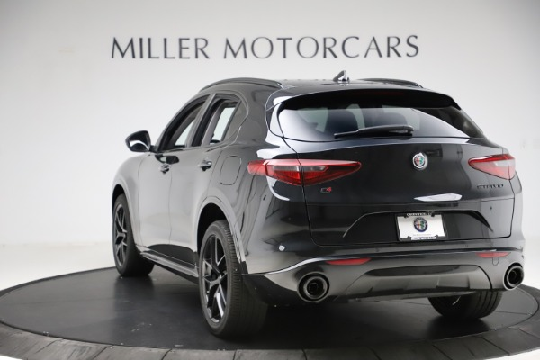 New 2020 Alfa Romeo Stelvio Ti Sport Q4 for sale $51,795 at Maserati of Greenwich in Greenwich CT 06830 5
