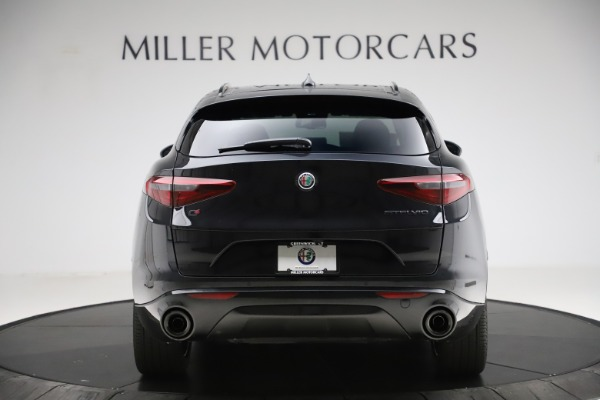 New 2020 Alfa Romeo Stelvio Ti Sport Q4 for sale $51,795 at Maserati of Greenwich in Greenwich CT 06830 6