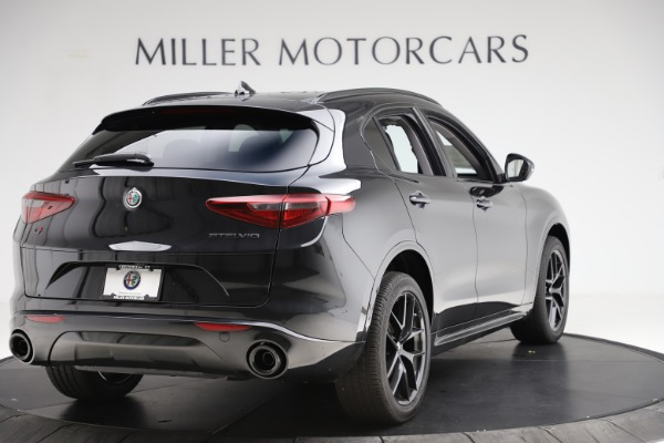 New 2020 Alfa Romeo Stelvio Ti Sport Q4 for sale $51,795 at Maserati of Greenwich in Greenwich CT 06830 7