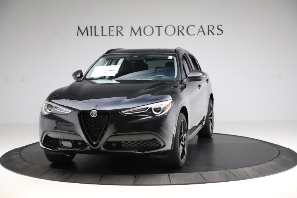New 2020 Alfa Romeo Stelvio Ti Sport Q4 for sale $51,795 at Maserati of Greenwich in Greenwich CT 06830 1