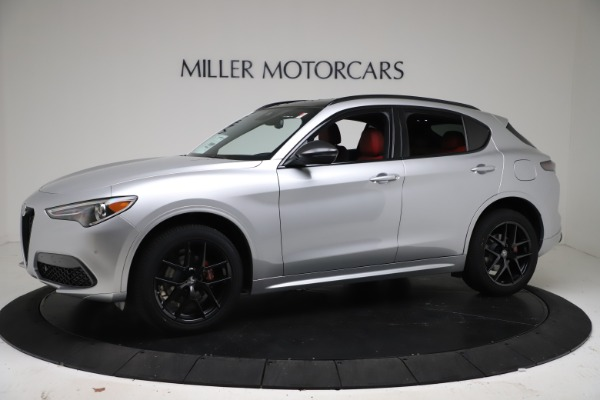New 2021 Alfa Romeo Stelvio Ti Sport Q4 for sale $56,090 at Maserati of Greenwich in Greenwich CT 06830 2