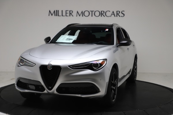 New 2021 Alfa Romeo Stelvio Ti Sport Q4 for sale $56,090 at Maserati of Greenwich in Greenwich CT 06830 1
