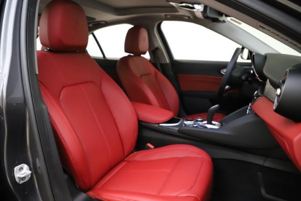 New 2021 Alfa Romeo Giulia Q4 for sale $48,035 at Maserati of Greenwich in Greenwich CT 06830 22