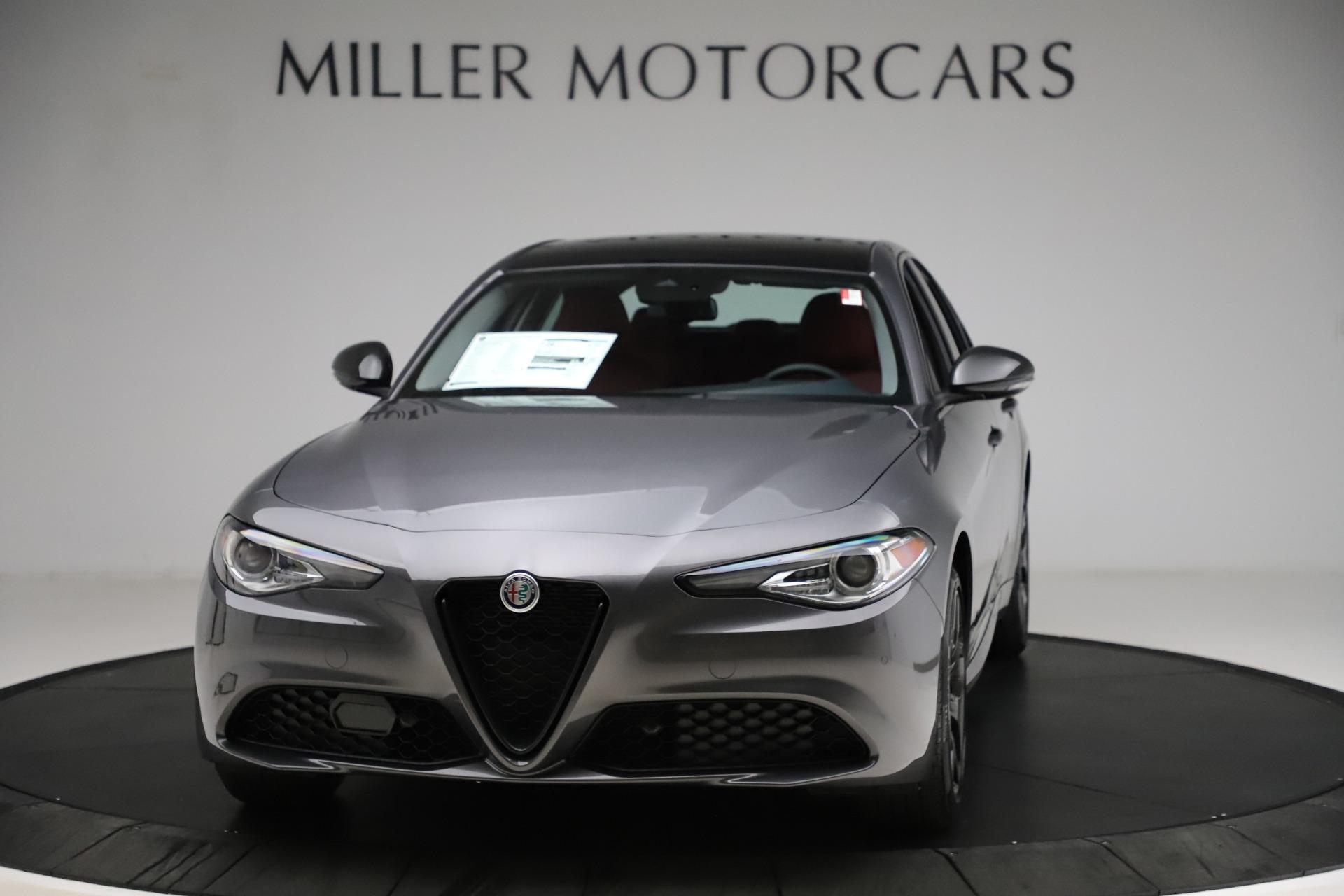 New 2021 Alfa Romeo Giulia Q4 for sale $48,035 at Maserati of Greenwich in Greenwich CT 06830 1