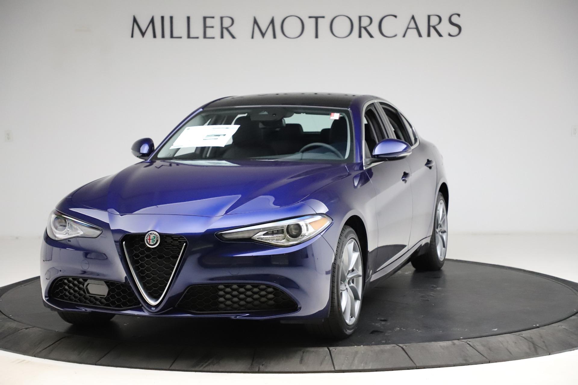 New 2021 Alfa Romeo Giulia Q4 for sale $46,800 at Maserati of Greenwich in Greenwich CT 06830 1