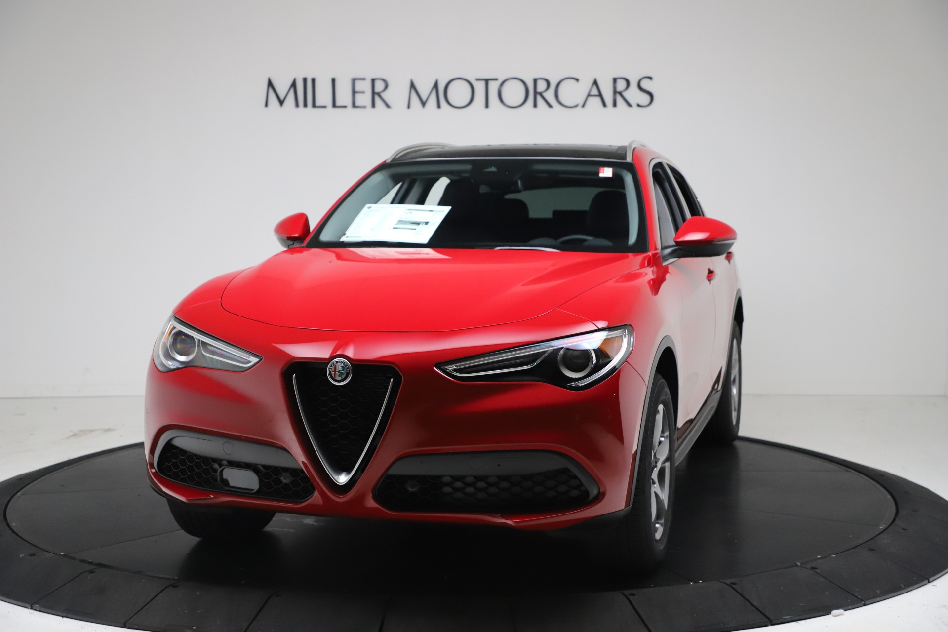 New 2021 Alfa Romeo Stelvio Q4 for sale Sold at Maserati of Greenwich in Greenwich CT 06830 1