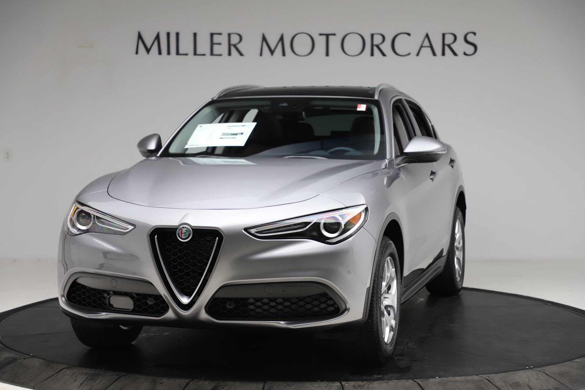 New 2021 Alfa Romeo Stelvio Q4 for sale $48,835 at Maserati of Greenwich in Greenwich CT 06830 1