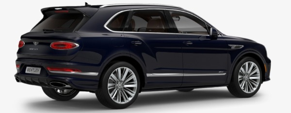 New 2021 Bentley Bentayga Speed Edition for sale $272,895 at Maserati of Greenwich in Greenwich CT 06830 3