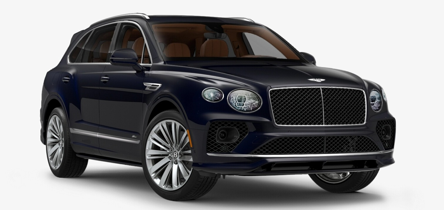 New 2021 Bentley Bentayga Speed Edition for sale $272,895 at Maserati of Greenwich in Greenwich CT 06830 1