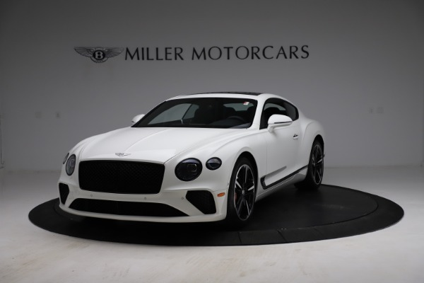 New 2021 Bentley Continental GT V8 for sale Call for price at Maserati of Greenwich in Greenwich CT 06830 1