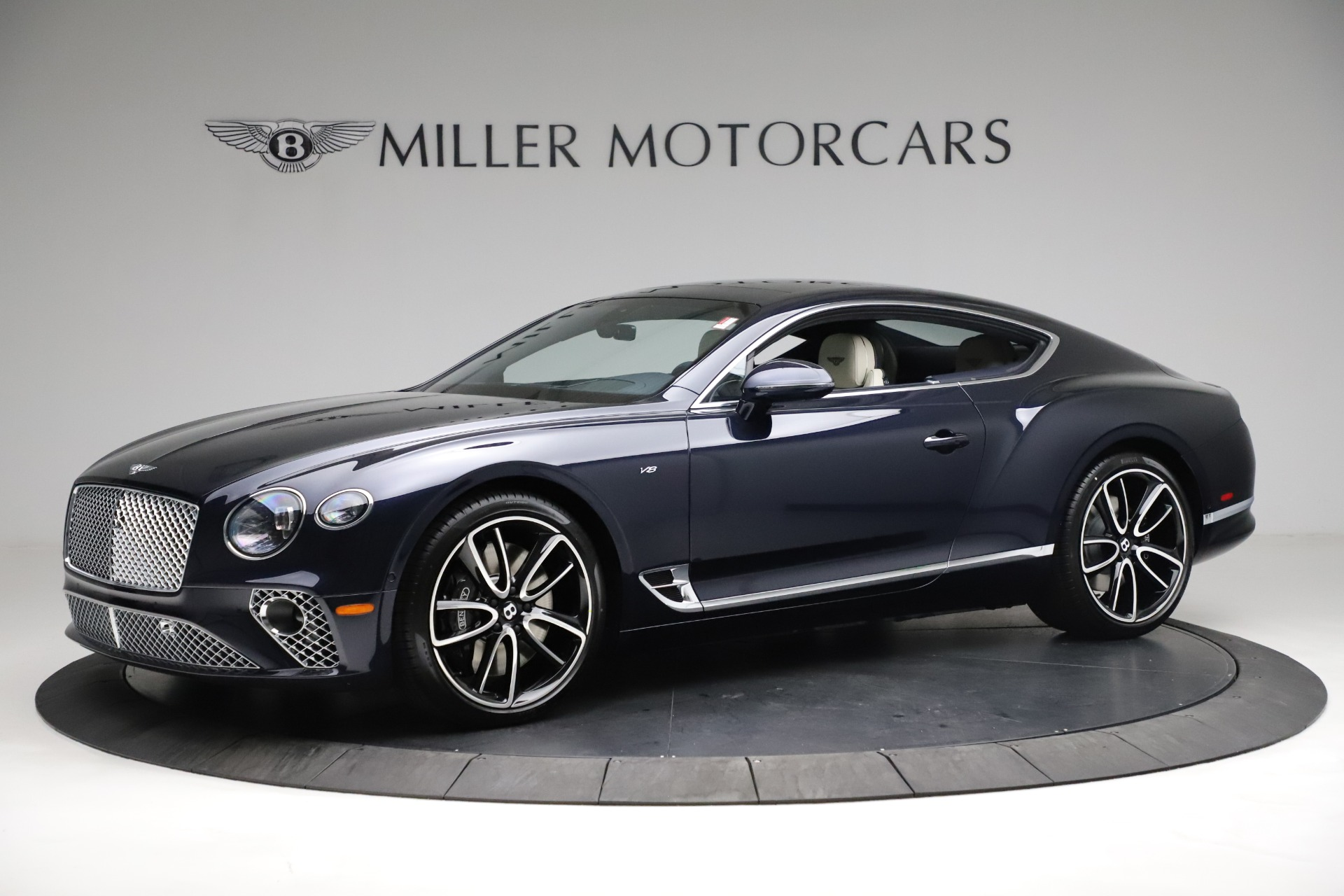 New 2021 Bentley Continental GT V8 for sale $260,310 at Maserati of Greenwich in Greenwich CT 06830 1