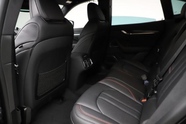 New 2021 Maserati Levante Q4 GranSport for sale $94,985 at Maserati of Greenwich in Greenwich CT 06830 17