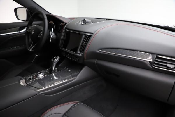 New 2021 Maserati Levante Q4 GranSport for sale $94,985 at Maserati of Greenwich in Greenwich CT 06830 21