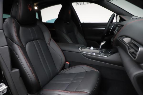 New 2021 Maserati Levante Q4 GranSport for sale $94,985 at Maserati of Greenwich in Greenwich CT 06830 23